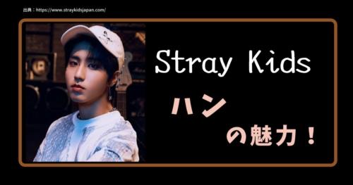 Stay Kidsハンの魅力
